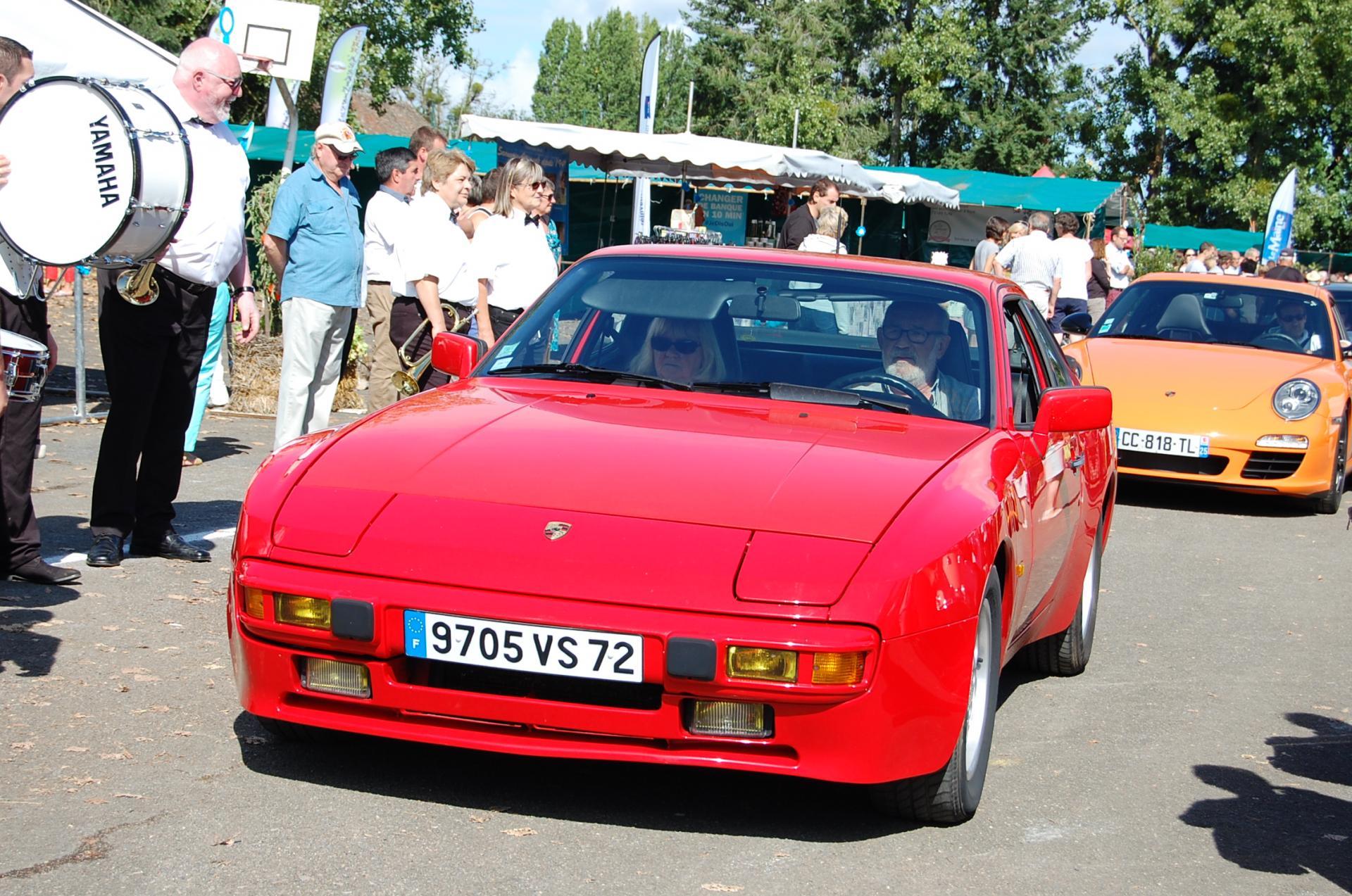 Défilé de Porsche