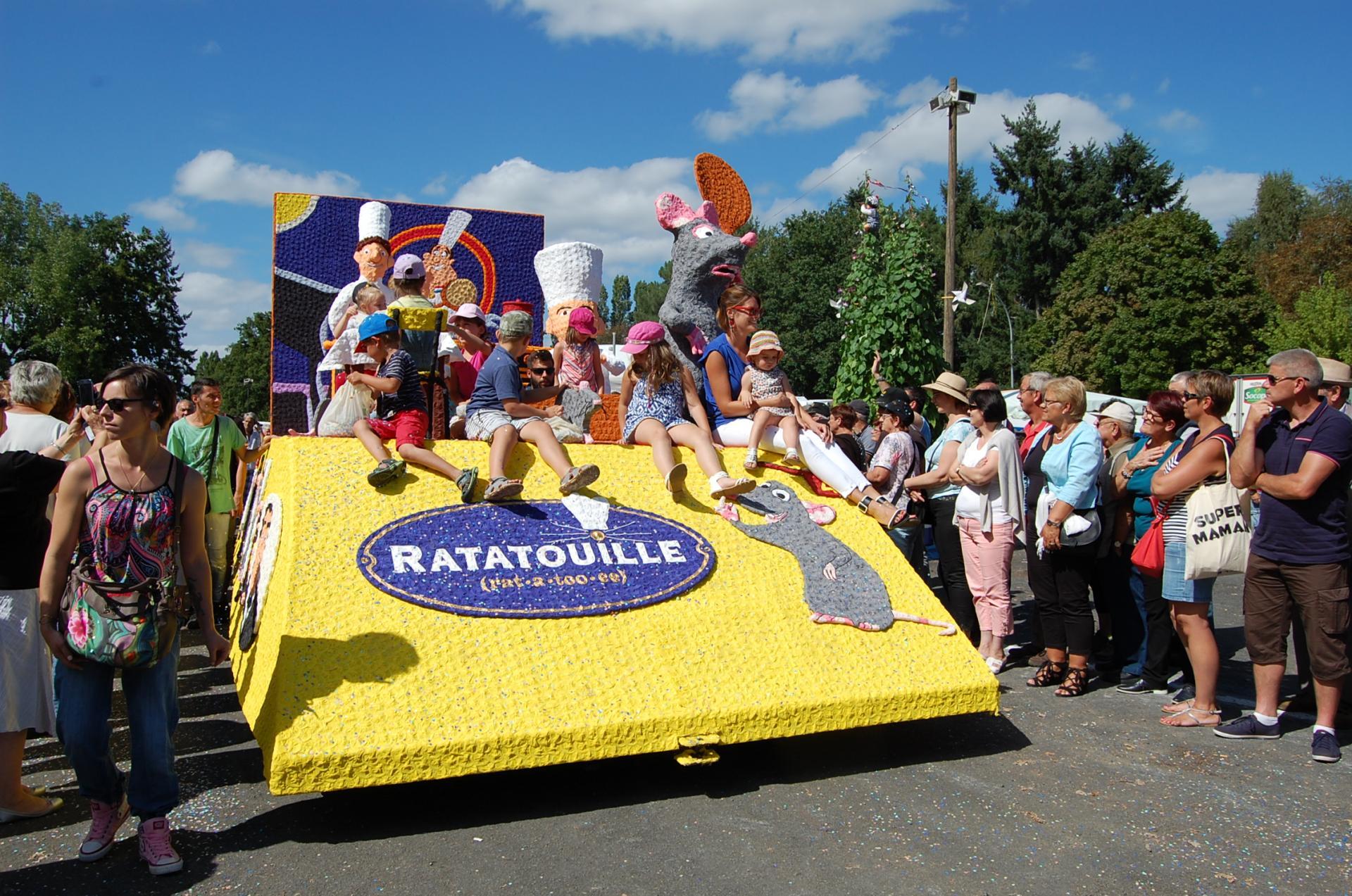 Le char Ratatouille