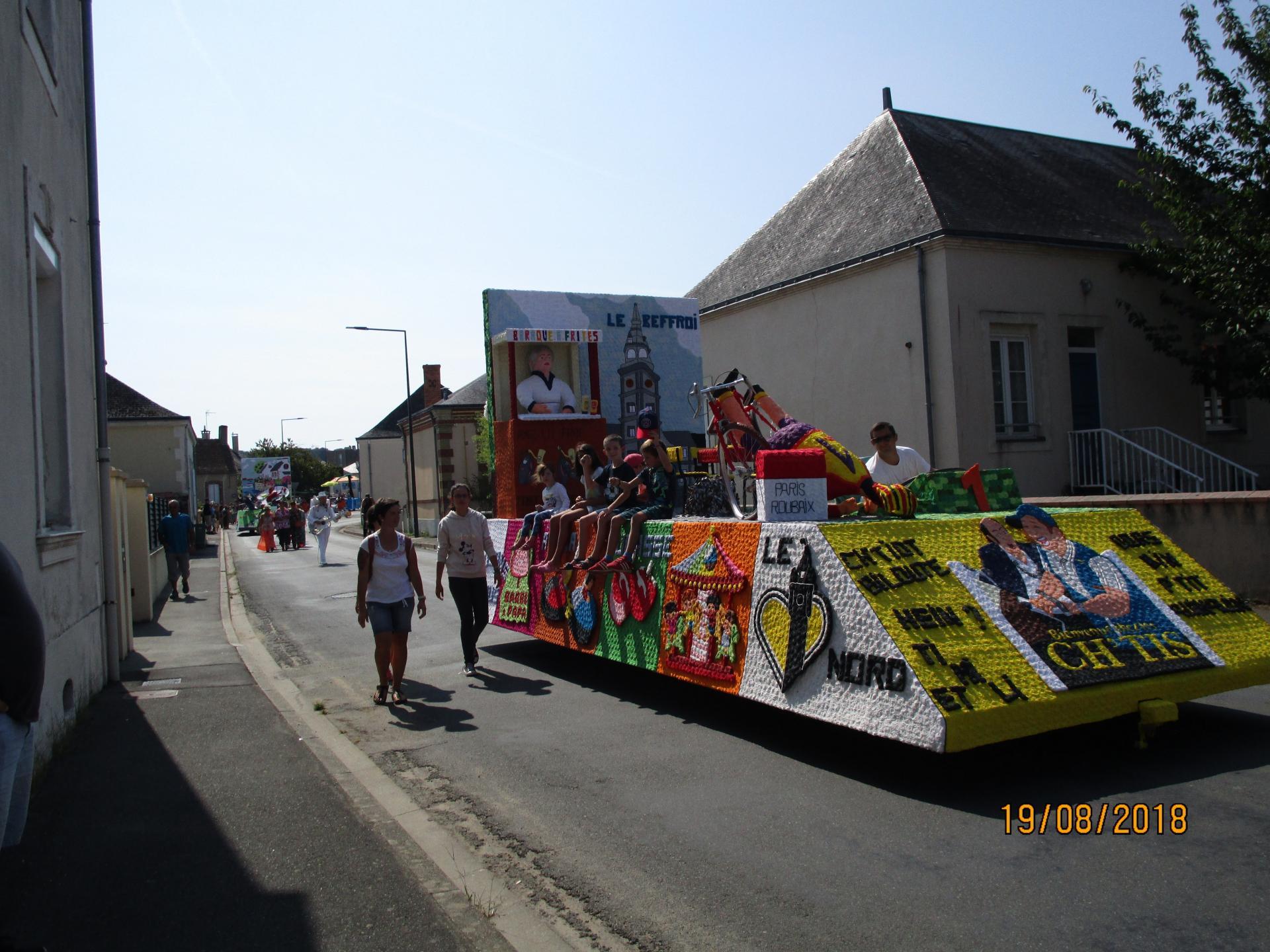 Le char des Chti's